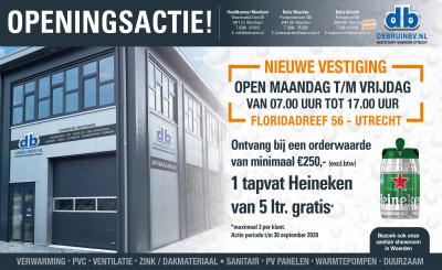 Filiaal Utrecht nu open